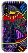 Palm Turtle Mola IPhone Case