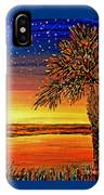 Palmetto Sunset  IPhone Case