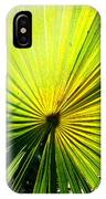 Radial Palm IPhone Case
