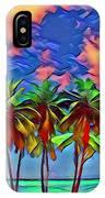 Palms 2 IPhone Case