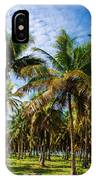 Palms And Sky IPhone Case