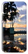 Palms And Sunshine IPhone Case