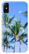 Palms In Living Harmony IPhone Case