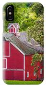 Palouse Barn Number 9 IPhone Case