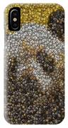 Panda Coin Mosaic IPhone Case