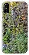 Panorama Of Gorman Falls At Colorado Bend State Park - Lampasas Texas Hill Country IPhone Case