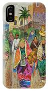 Panorama Of Oman IPhone Case