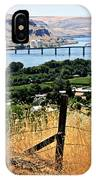 Panoramic Columbia River  IPhone Case