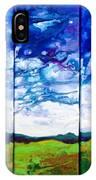 Panoramic Stormy Skies IPhone Case
