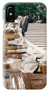 Panoramic View Of Stairs And Waterfall IPhone Case