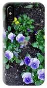 Pansies IPhone Case
