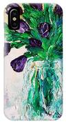 Pansis Vase IPhone Case