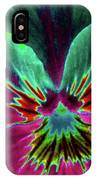 Pansy 01 - Photopower - Thoughts Of You IPhone Case
