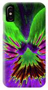 Pansy 02 - Photopower - Thoughts Of You IPhone Case