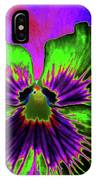 Pansy 06 - Photopower - Thoughts Of You IPhone Case