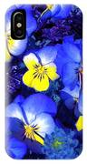 Pansy 3 IPhone Case