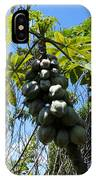 Papayas On A Tree IPhone Case
