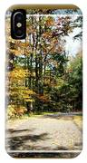 Paper Mill Trail, Framed IPhone Case
