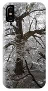 Paper Mulberry In Infrared IPhone Case