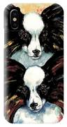 Papillon De Mardi Gras IPhone Case