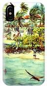 Paradise At Dorado Puerto Rico IPhone Case