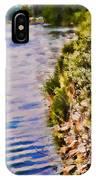 Paradise Lake Shore IPhone Case