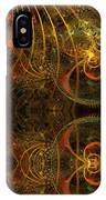Parallel Visions Of Time   IPhone Case