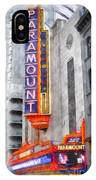 Paramount Theater Boston Ma IPhone Case