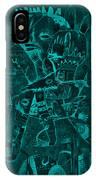 Paramount Turquoise IPhone Case