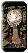 Parasol Mushroom           Macrolepiota Procera           August     Indiana   IPhone Case