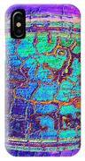 Parched Earth Abstract IPhone Case