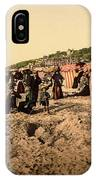 Trouville France Beach - The Good Old Days IPhone Case