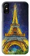 Paris By Night IPhone Case