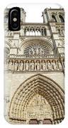 Paris Notre Dame IPhone Case