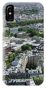Paris Panorama From The Eiffel Tower IPhone X Case