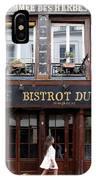 Paris Street Life 2 IPhone Case