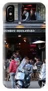 Paris Street Life 4 IPhone Case