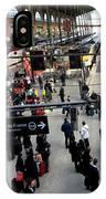 Paris Train Station IPhone Case
