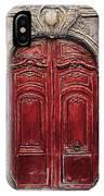 Parisian Door No.49 IPhone Case