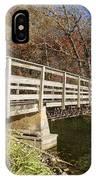 Park Bridge Autumn 3 IPhone Case