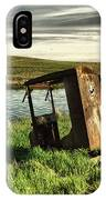 Parked By The Pond IPhone Case