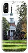 Parker Hall - Hanover College IPhone Case