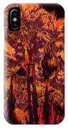 Parking Lot Palms 1 11 IPhone Case
