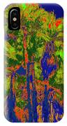 Parking Lot Palms 1 15 IPhone Case