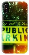 Parking Sign IPhone Case
