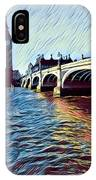Parliament Across The Thames IPhone Case