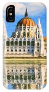 Parliament Of Budapest IPhone Case