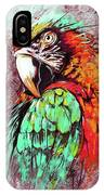 Parrot Art 09i IPhone Case