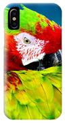 Parrot Time 1 IPhone Case