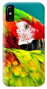 Parrot Time 2 IPhone Case